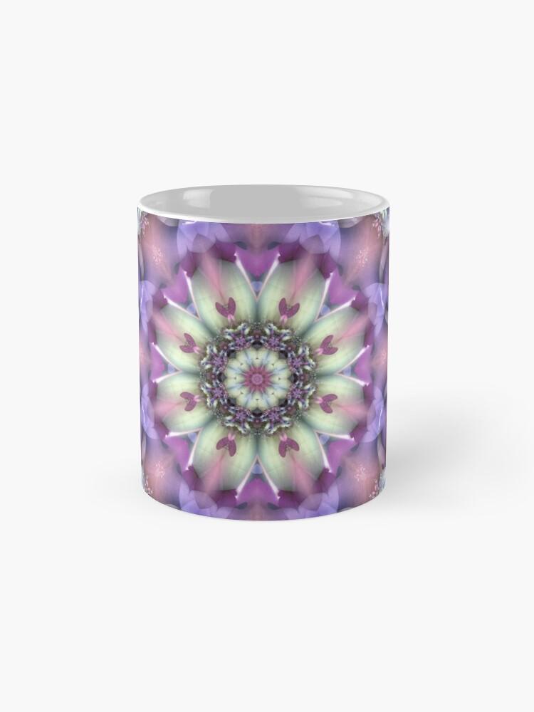 Alternate view of Lilac Mandala Mugs