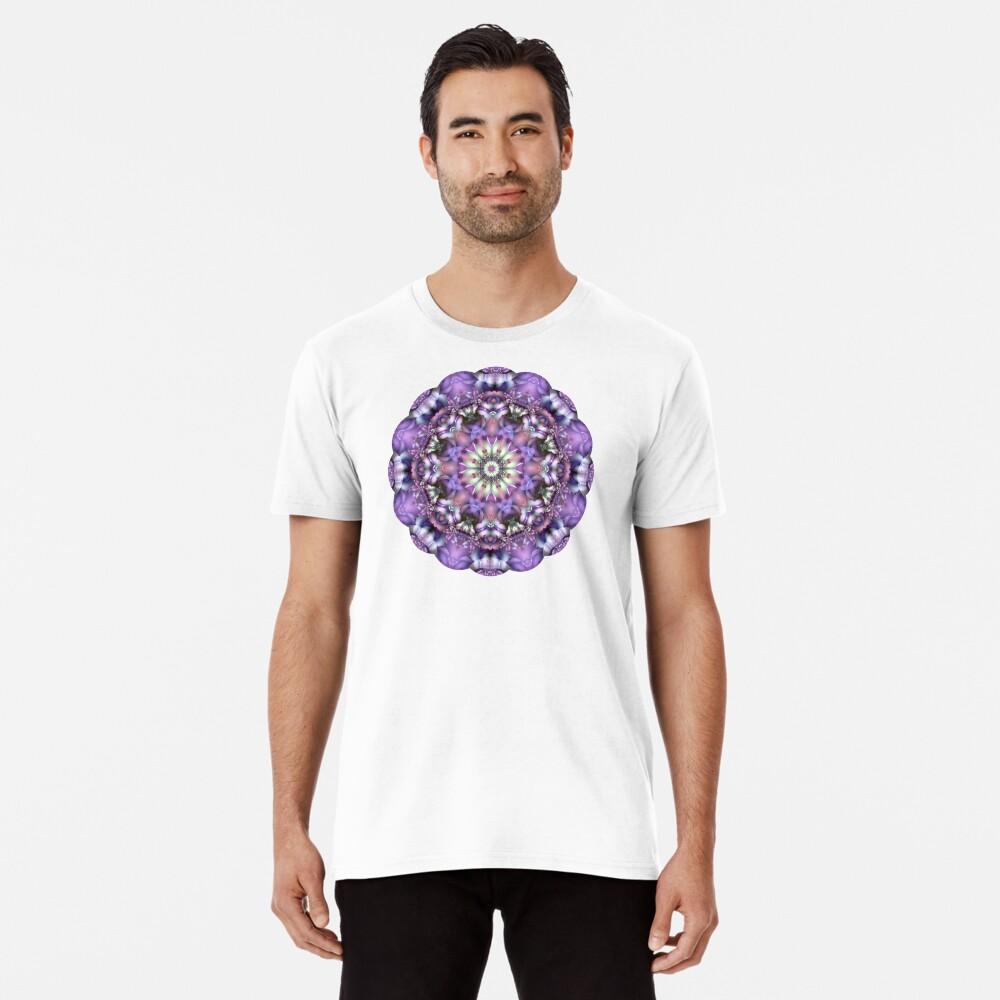 Lilac Mandala Premium T-Shirt
