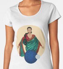 Patroness Saint of Mother Earth (2) Women's Premium T-Shirt