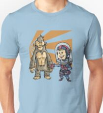 SpaceKid and a Joe...the Brown Furred Snaggletooth Unisex T-Shirt