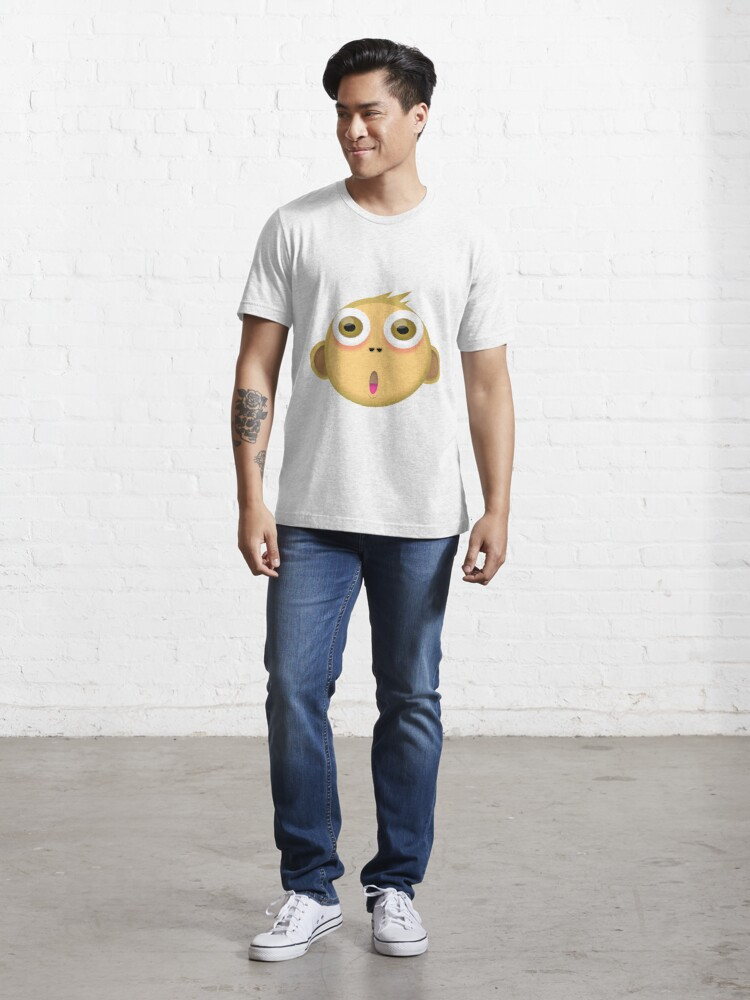 Alternate view of Monkey Face Essential T-Shirt