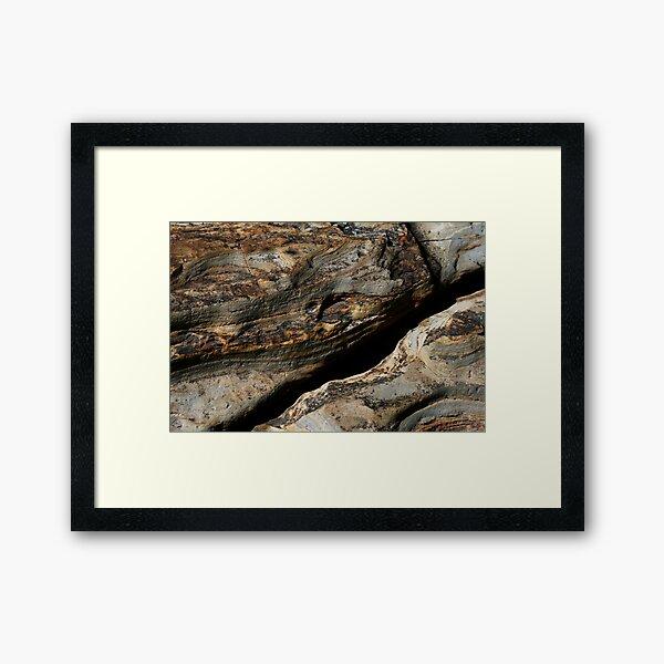 Stonerosion Framed Art Print