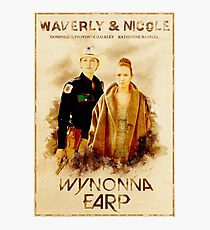 Wynonna Earp - Western Style Cast Poster #11 (WayHaught Special) Photographic Print