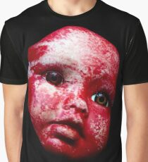 Blood Doll Face 1 Graphic T-Shirt