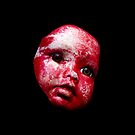 Blood Doll Face 1 by Shelly Still