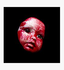 Blood Doll Face 1 Photographic Print