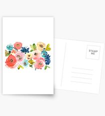 Floral Pop 02 Postcards