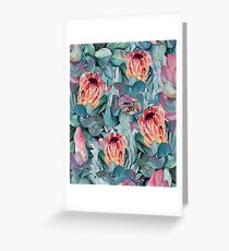 Protea flowers Greeting Card
