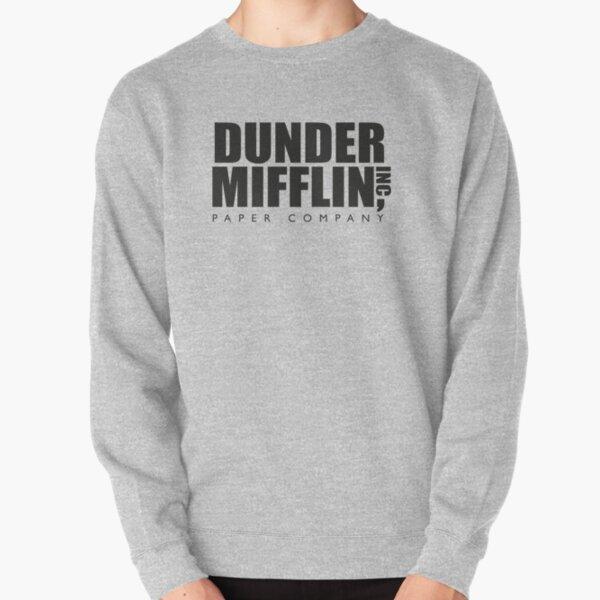 Logotipo de Dunder Mifflin Paper Company - La oficina Sudadera sin capucha