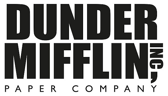 """Dunder Mifflin Paper Company Logo - The Office ..."