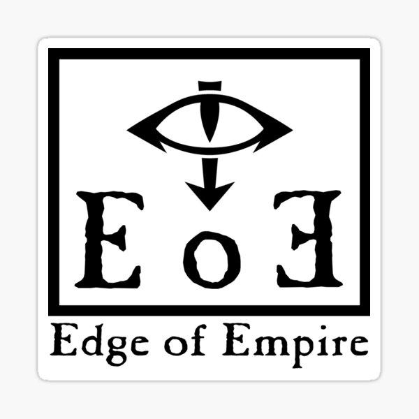 Edge of Empire - Black Sticker