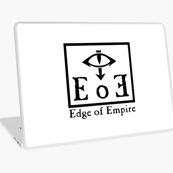 Edge of Empire - Black Laptop Skin