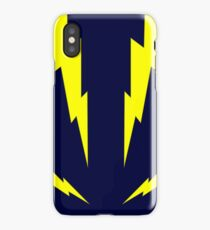 Thunderbolts in Yellow iPhone Case/Skin