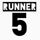 RUNNER 5 - white by Teayl