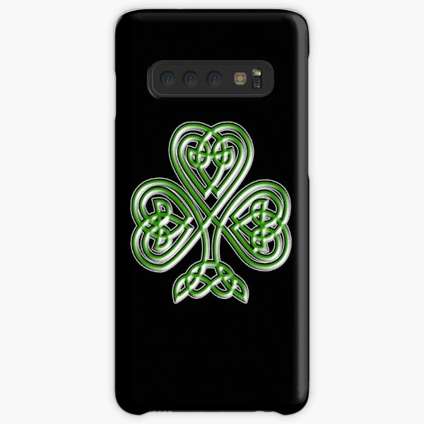 Shamrock. Knot, St Patricks Day, Celtic, Celt, Irish, Ireland, Eire, Luck, Lucky. Samsung Galaxy Snap Case