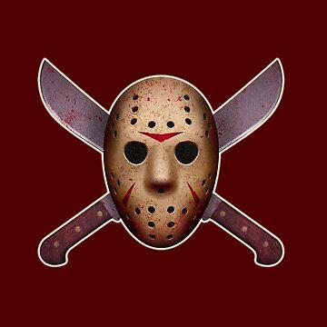 Jason Mask and Machetes  by VanHand