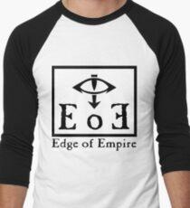 Edge of Empire - Black Men's Baseball ¾ T-Shirt