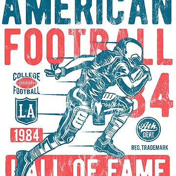AMERICAN FOOTBALL - American football hall of fame - sports shirt motif by superiors-shop
