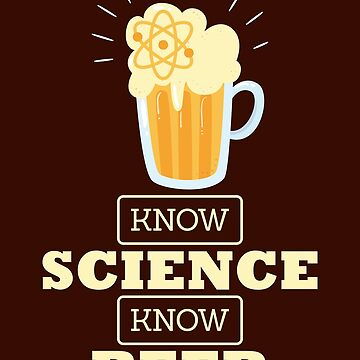 Brewmaster Shirt No Science No Beer Homebrewing Design Gift Tee by artbyanave