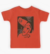 The Kiss At Moonlight With Ocean Kids Tee
