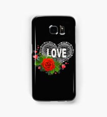 Love heart Samsung Galaxy Case/Skin