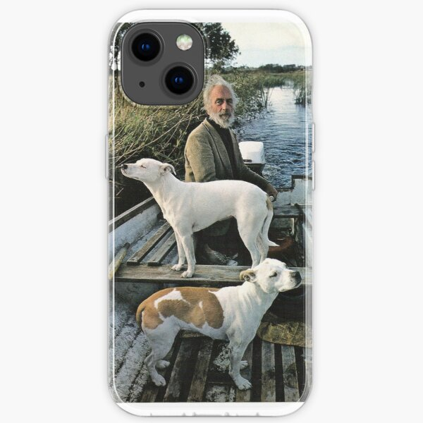 Beard Man Dogs Boat iPhone Soft Case