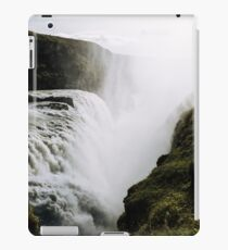 Gullfoss waterfall  in Iceland - Landscape Photography iPad Case/Skin