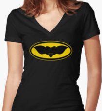 Gotham Gremlin Women's Fitted V-Neck T-Shirt