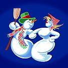 Snow Dancing by James & Laura Kranefeld