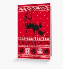 Kinky Christmas Greeting Card