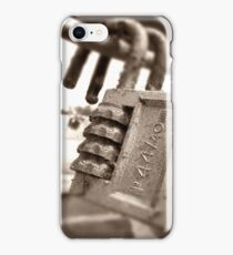 Twins - Urban Exploration Photography iPhone Case/Skin