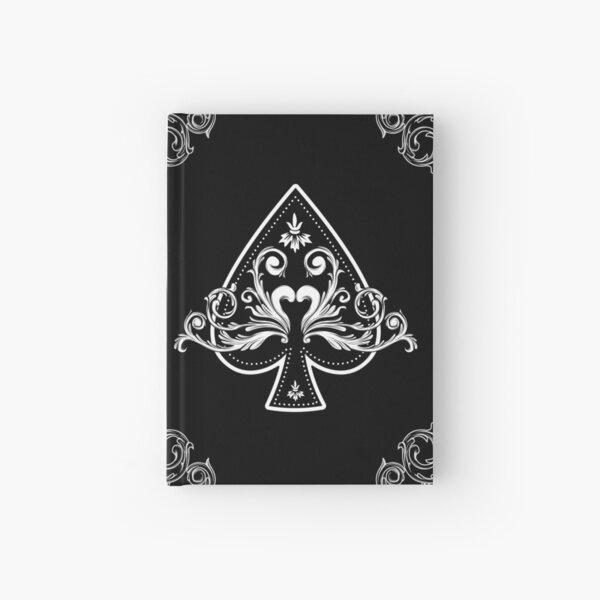 Ace of Spades Vintage Cool Black Hardcover Journal