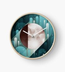 Fly me to the Moon Clock