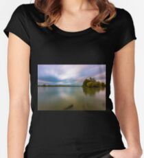 Budapest and the Danube Women's Fitted Scoop T-Shirt