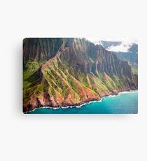 The Na Pali Coast of Kauai Metal Print