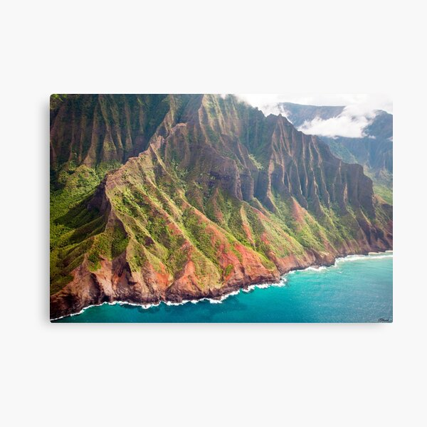 The Na Pali Coast of Kauai Metal Print