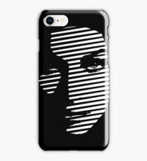 Face  portrait line style iPhone Case/Skin
