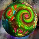 Planet Fractalia by Leoni Mullett