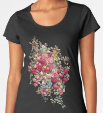 """Bouquety"" Women's Premium T-Shirt"