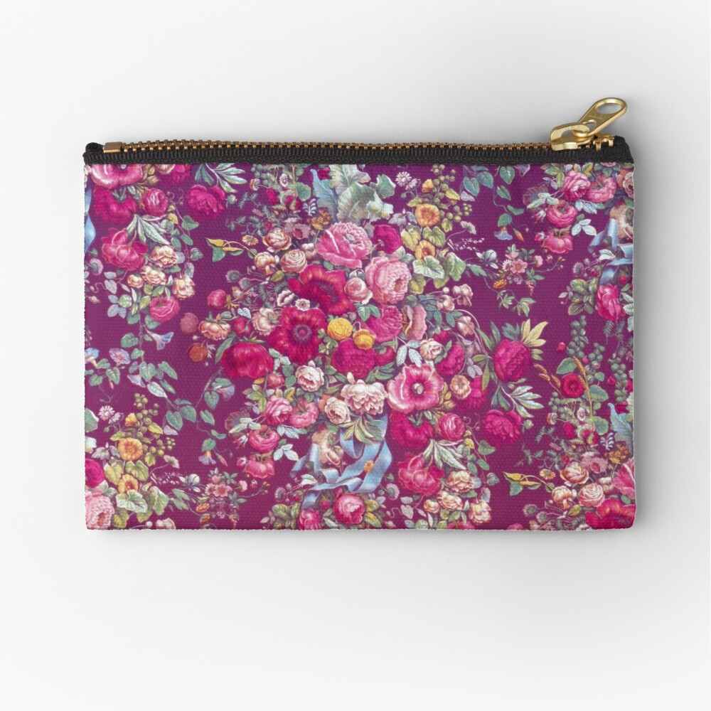 Bouquety Zipper Pouch
