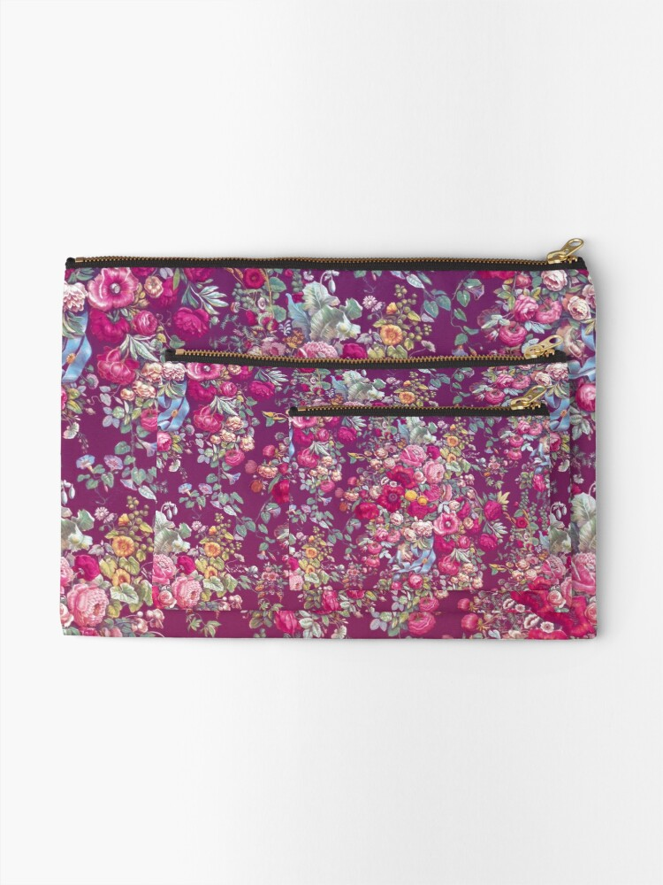 Alternate view of Bouquety Zipper Pouch