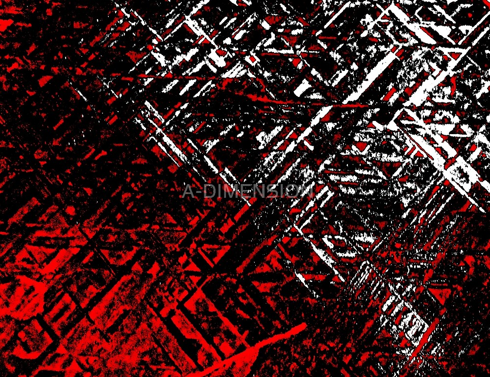 Techno Stone, Red n Black (Texture, Background) by A-DIMENSION
