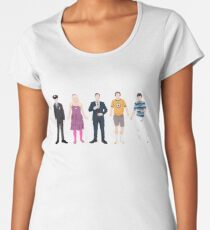 The Many Faces of Jimmy Fallon Women's Premium T-Shirt