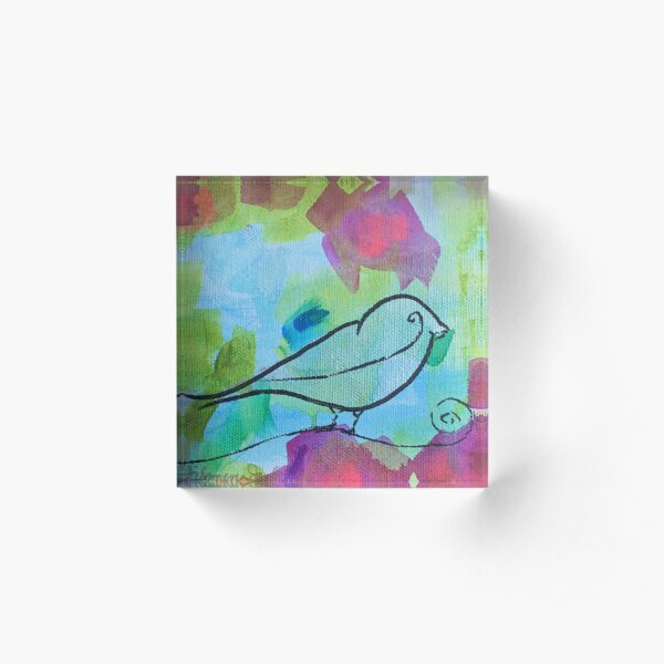 Sing Your Song  Acrylic Block