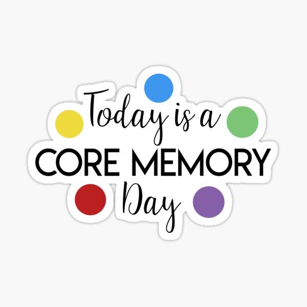 Memoria central Pegatina