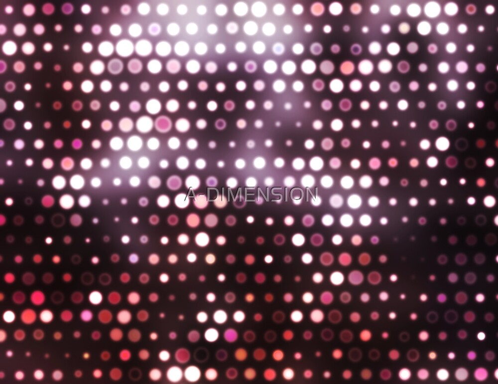 Dots, Pink (Wallpaper, Background) by A-DIMENSION