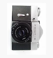 Zenit B 35mm SLR Photographic Print
