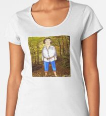 The Princess Bride Fezzik Andre the Giant Illustration by Jayne Kitsch Women's Premium T-Shirt