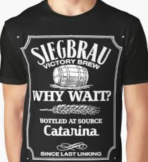 Siegbrau Whisky - white Graphic T-Shirt