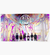 BTS love yourself DNA Poster